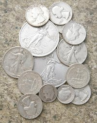 90% Silver Coins - Junk Silver